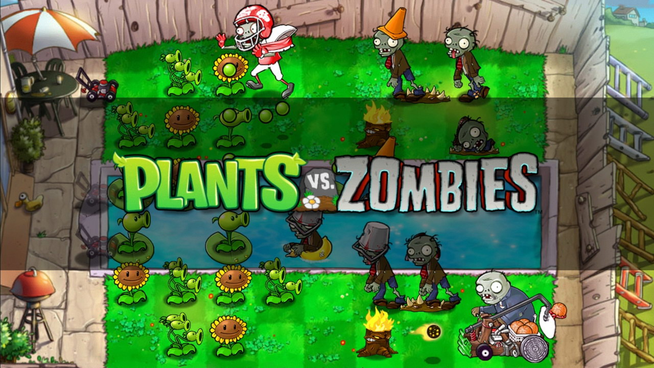Plants vs Zombies by Electronic Arts
