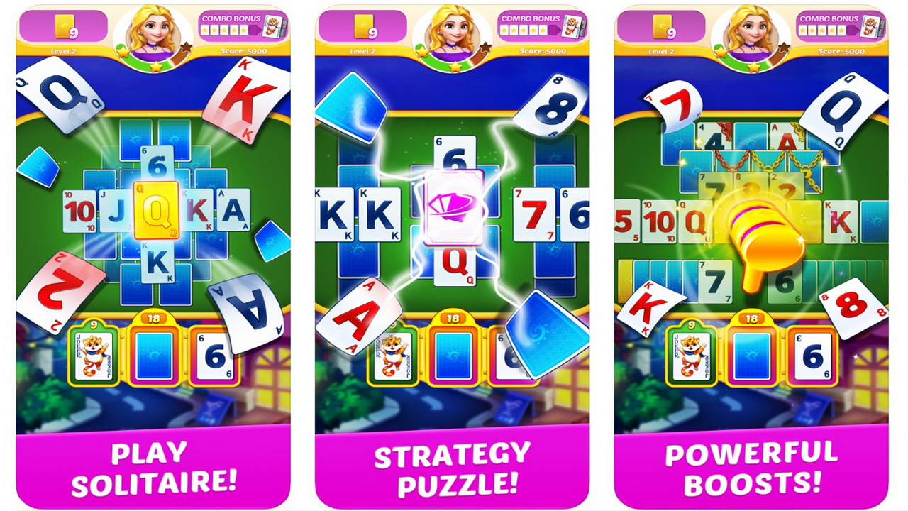 Solitaire Genies by Bigcool Games