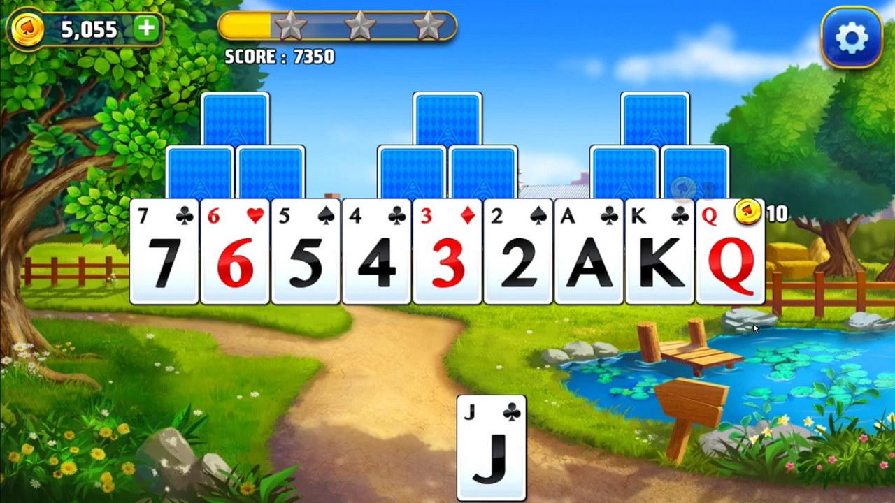 Solitaire Tripeaks Farm Adventure By Me2zen Mobile Solitaire Games
