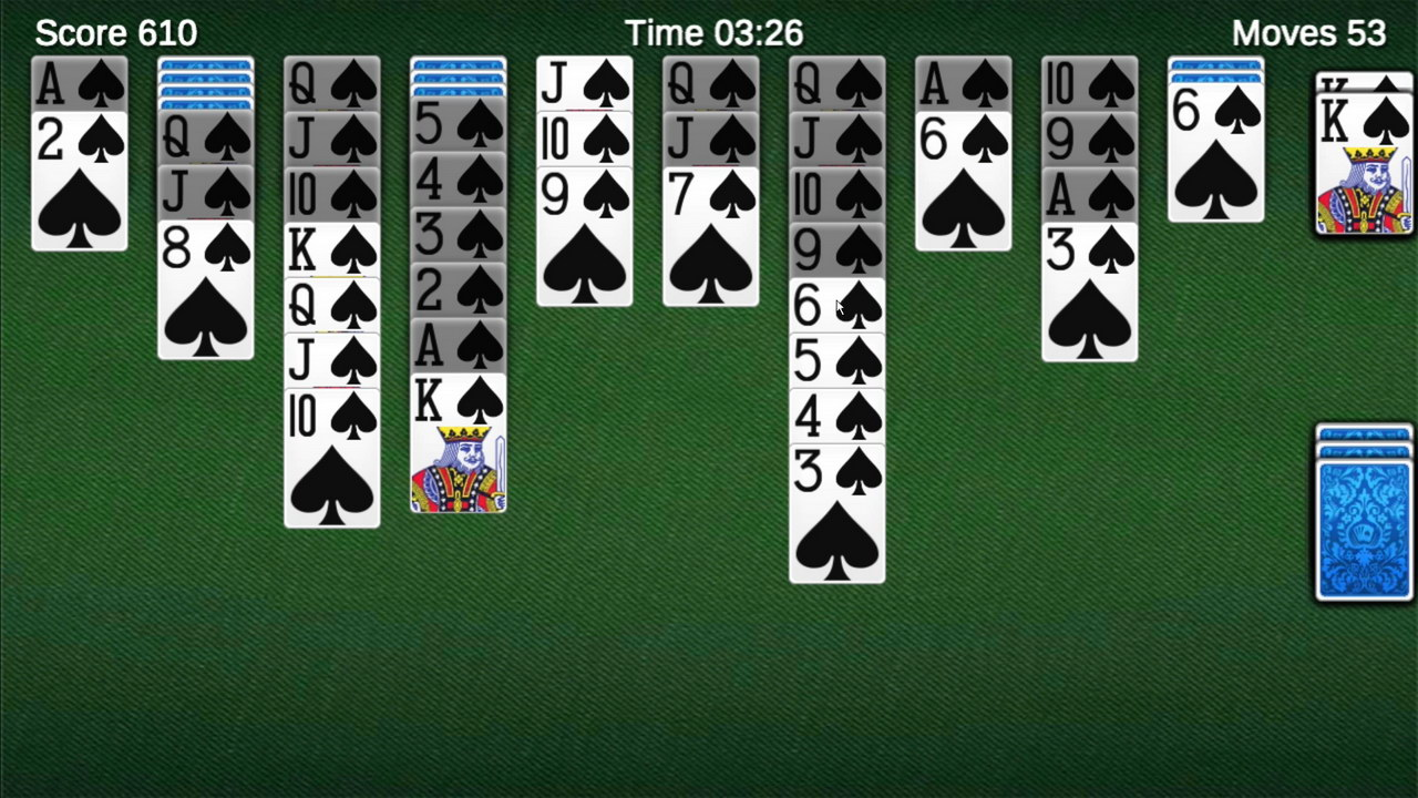 Spider Solitaire by Aged Studio Limited