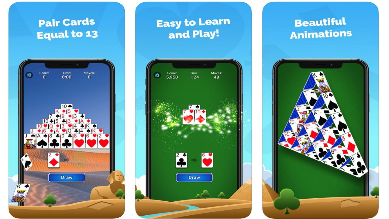 pyramid solitaire mobilityware
