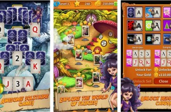Solitaire Quest: Elven Wonderland Story by Difference Games