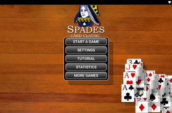 Spades Card Classic by Games By Post