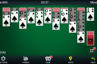 Spider Solitaire by Queens Solitaire Games