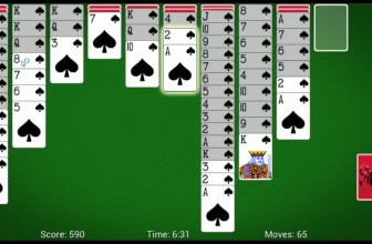 MobilityWare Spider Solitaire